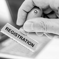 Registration with regulatory body